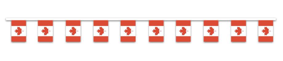 Canada Fähnchen Girlande