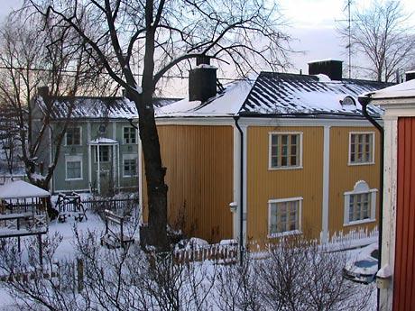 Helsinki Vallila Winter