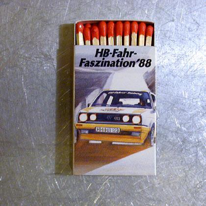 HB VW Ralley Golf GTI Hölzer