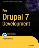Pro Drupal 7 Development By Tomlinson Todd Author Paperback