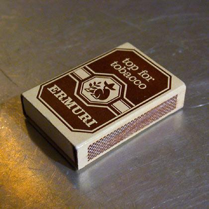 "Ermuri ""top for tobacco"""