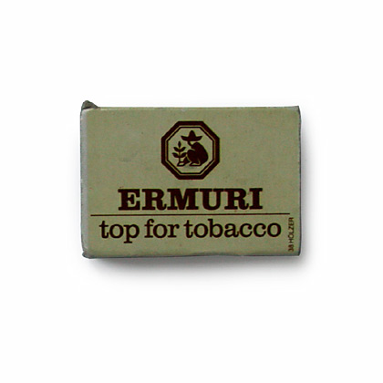 "ERMURI ""top for tobacco"""