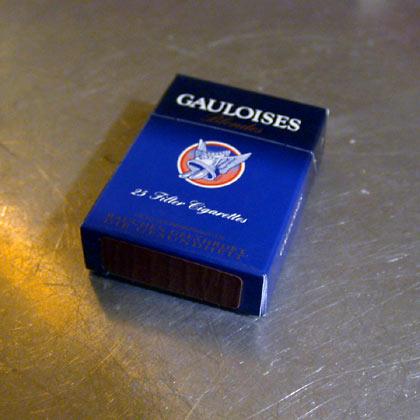 "Gauloises Blondes - blau ""Big Box"""