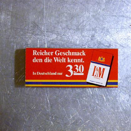 L&M Wolkenkratzer Design