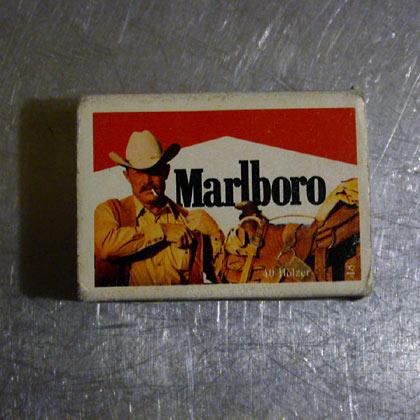 """Marlboro-Mann """"Wilder Westen"""""""