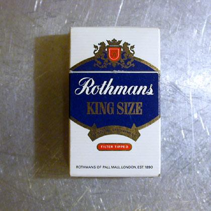 Rothman's King Size