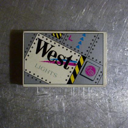 West Lights 80er-jahre Design